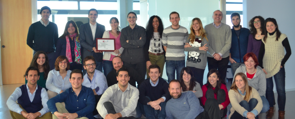 Cyberclick Group, 1st BestWorkplaces Pymes 2014 of Spain